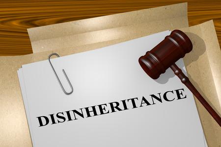 accidental disinheritance