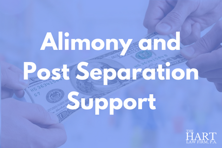 Alimony and Post Separation Support in North Carolina