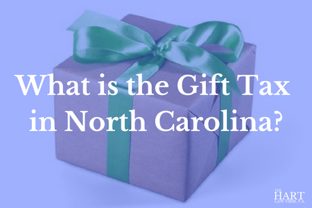 Gift tax in NC