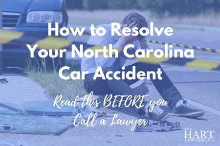 North Carolina Car Accident Case