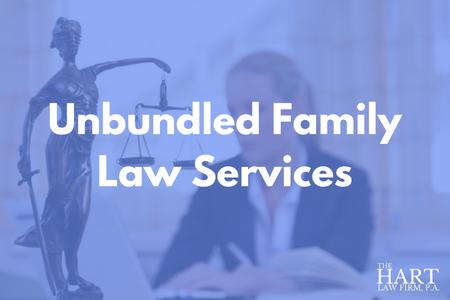 unbundled legal services family law